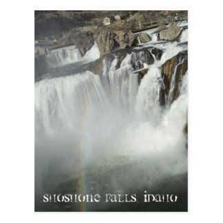 Shoshone fällt Idaho Postkarte