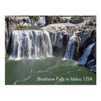 Shoshone fällt in Idaho USA Postkarte