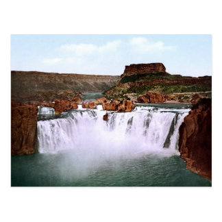Shoshone fällt Snake River Idaho Postkarte