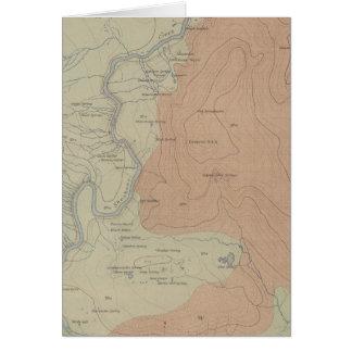 Shoshone-Geysir-Becken Karte