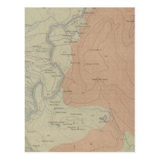 Shoshone-Geysir-Becken Postkarte