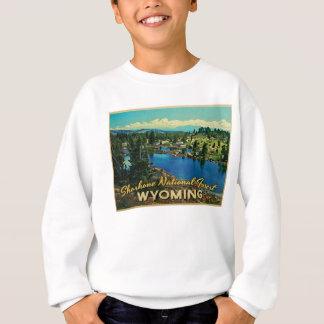 Shoshone-staatlicher Wald Wyoming Sweatshirt