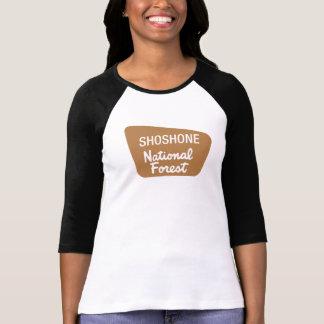 Shoshone-staatlicher Wald (Zeichen) T-Shirt