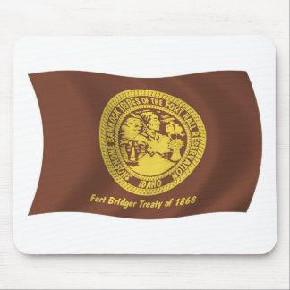 Shoshonebannock-Stamm-Flagge Mousepad