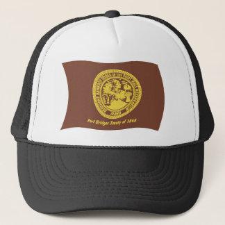 Shoshonebannock-Stamm-Flaggen-Hut Truckerkappe
