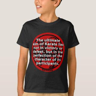 Shotokan - das entscheidende Ziel T-Shirt