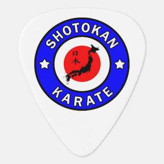 Shotokan Karate Plektrum