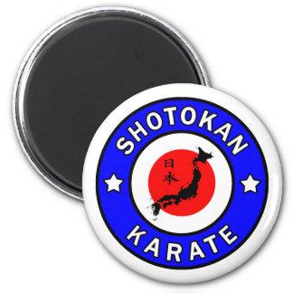 Shotokan Karate Runder Magnet 5,1 Cm