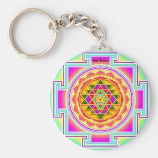 Shri Chakra Schlüsselanhänger