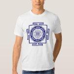 Shri Yantra, Lotus, Energie Generator T Shirt