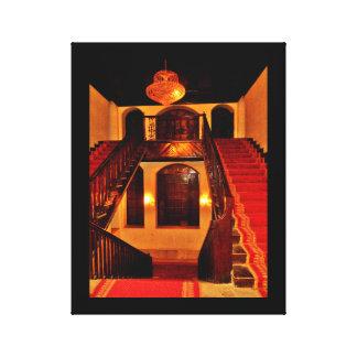 Shubra Palast-Innenraum Leinwanddruck