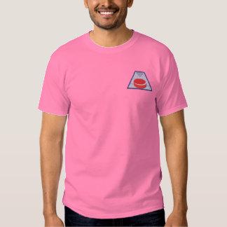 Shuffleboard Besticktes T-Shirt