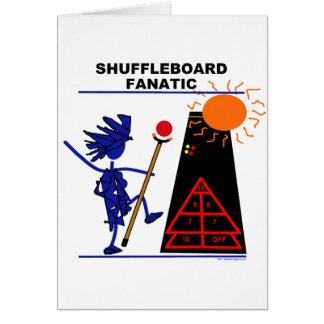 Shuffleboard-Fanatiker Karte