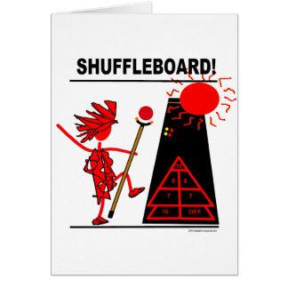 Shuffleboard! Karte