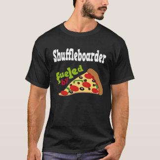 Shuffleboarder (lustiges) Pizza-T-Shirt T-Shirt
