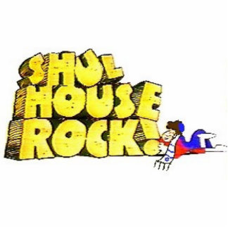 Shul Haus-Felsen Fotofigur