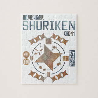 Shuriken Origami Puzzle