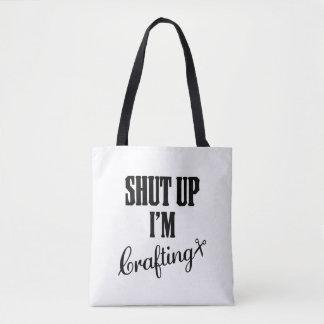 SHUTUP Taschen-Taschein handarbeit machender Tasche