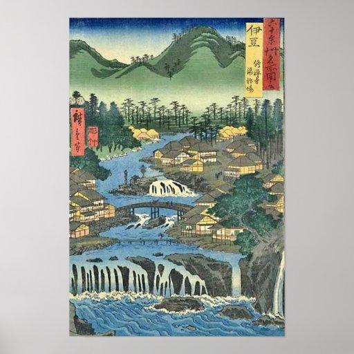 Shuzenji Izu Posterdruck