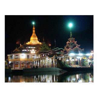 Shwe Dagon Pagode Postkarte