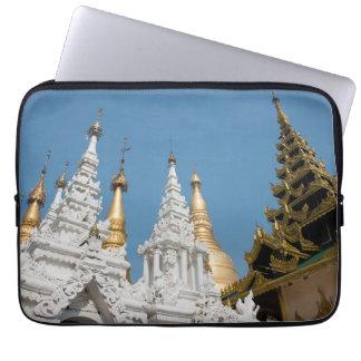 Shwedagon Pagoden-Äußeres Laptop Sleeve