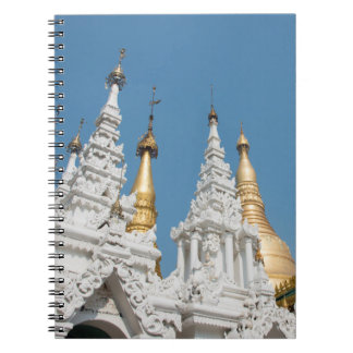 Shwedagon Pagoden-Äußeres Spiral Notizblock