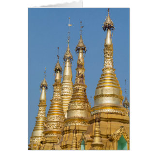 Shwedagon Pagoden-Helme Karte
