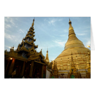 shwedagon Pagoden Karte