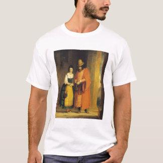 """Shylock und Jessica """"vom Kaufmann von Venedig"""", T-Shirt"""