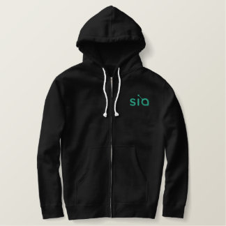 Sia stickte Hoodie