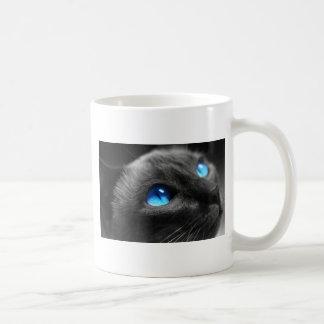 Siamesische blaue Augen Kaffeetasse