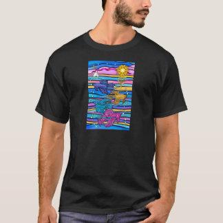 Siamesische Fische des Fighting-(Betta) T-Shirt
