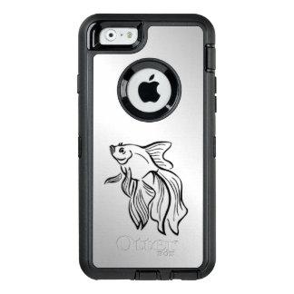 Siamesische kämpfende Fische OtterBox iPhone 6/6s Hülle