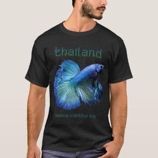 Siamesische kämpfende Fische Thailands T-Shirt