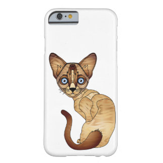 Siamesische Katze iPhone 6/6s, kaum dort Barely There iPhone 6 Hülle