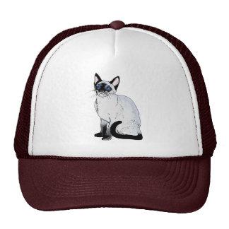 Siamesische Katze Retrokult Cap