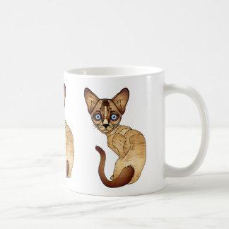 Siamesische Katzen-Kaffee-Tasse Kaffeetasse