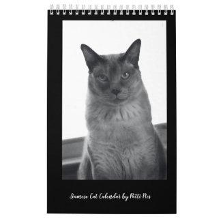 Siamesische Katzen-Kalender Kalender