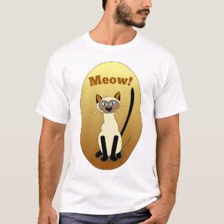 Siamesische Katzen-Shirt T-Shirt
