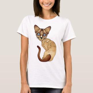 Siamesische Katzen-T - Shirt