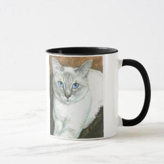 Siamesische Katzen-Tasse Tasse