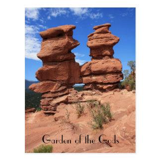 Siamesische Zwillinge ~ Garten der Gott-Postkarte Postkarte
