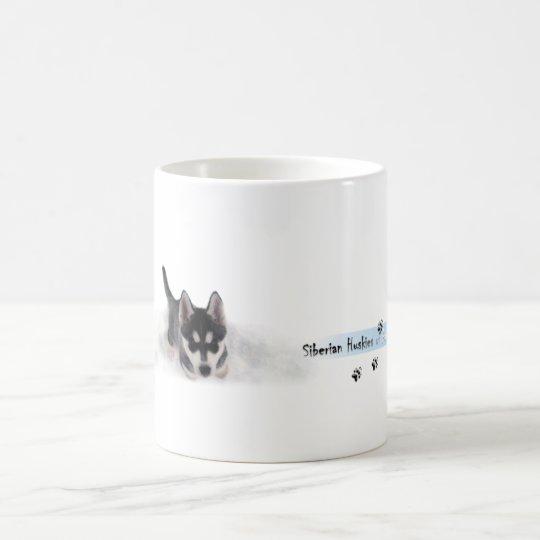 Siberian Husky Puppie Kaffeetasse
