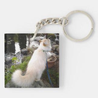Sibirische Waldkatze Schlüsselanhänger