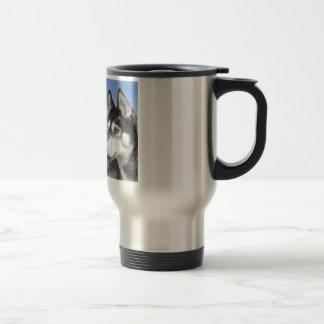 Sibirischer Huskies Reisebecher