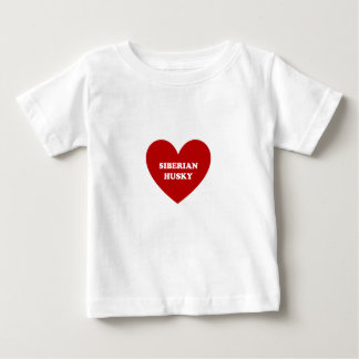 Sibirischer Husky Baby T-shirt