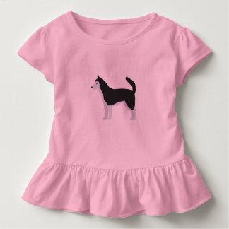 Sibirischer Husky Kleinkind T-shirt