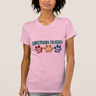 SIBIRISCHER HUSKY Mamma-Tatzen-Druck 1 T-Shirt