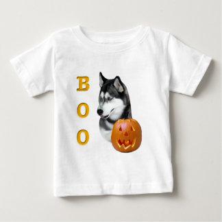 Sibirischer Husky(schwarzer) Boo Baby T-shirt