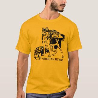 sibirischer Husky T-Shirt